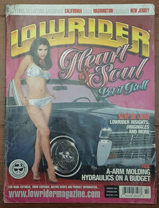 Lowrider, February 2002 - Damaged Copy