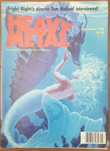 Heavy Metal, September 1985 (Greg Hildebrandt)