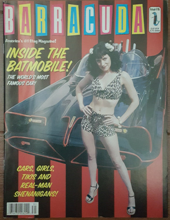 Barracuda #16, 2003 - Out of Print (Paget Brewster, Batmobile)