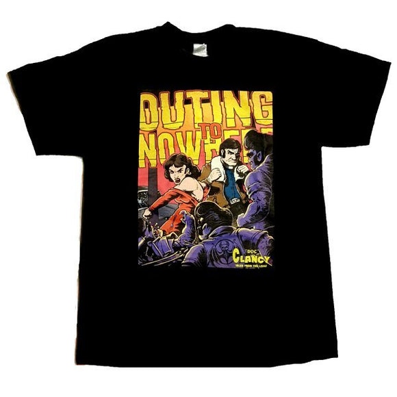 Outing to Nowhere T-Shirt (Retro Monsters)