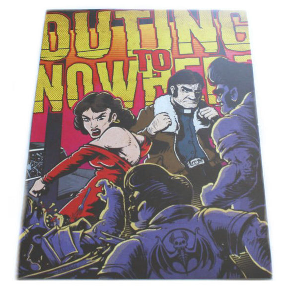 Outing to Nowhere 5x7 Mini Poster - Maginnis Art (Retro Monsters)