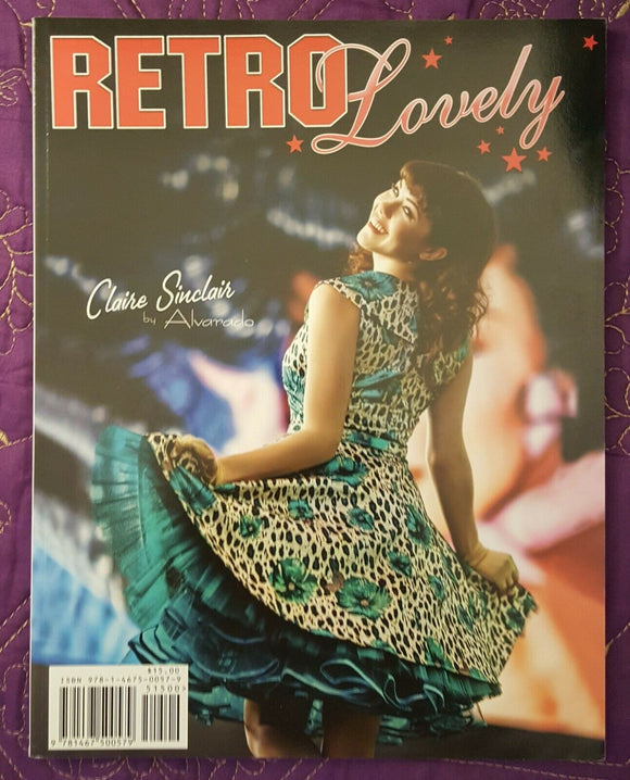 Retro Lovely #7, November 2011 (Claire Sinclair by Alvarado)