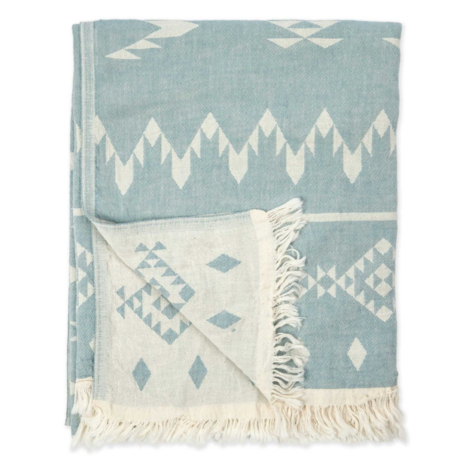 TURKISH TOWEL- Atlas Blue