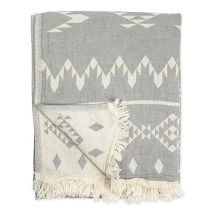 TURKISH TOWEL- Atlas Grey