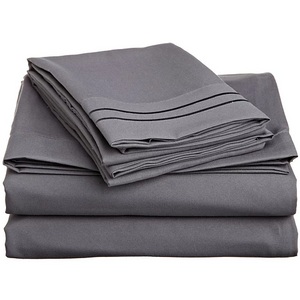 Bedsheet Set- Charcoal