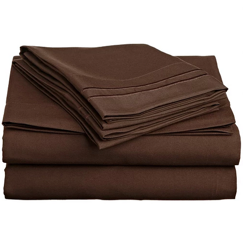 Bedsheet Set- Chocolate