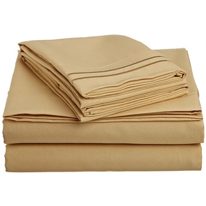 Bedsheet set- Gold