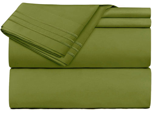 Bedsheet Set- Army Green