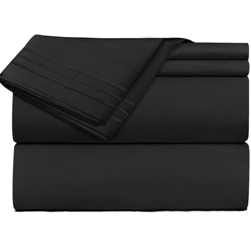 Bedsheet Set- Black