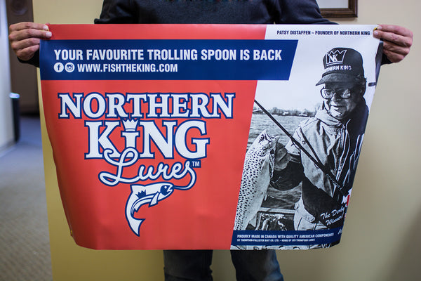 Northern King Vinyl Banner