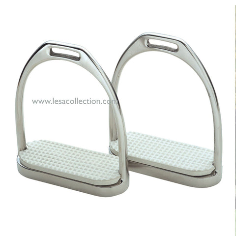 Iron Dressage Stirrups for Horse Riding - Lesa Collection
