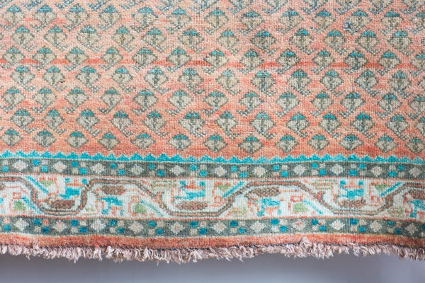 Vintage Turkish Rug 4.3 x 6.4