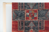 Vintage Turkish Rug 10.2 x2.3