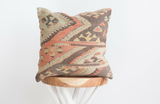 Turkish Kilim Pillow 18x18