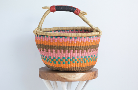 Large Natural Belly Basket