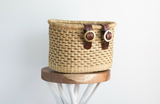 Bolga Bicycle Basket