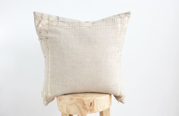 'Natural' Linen throw Pillow 20x20