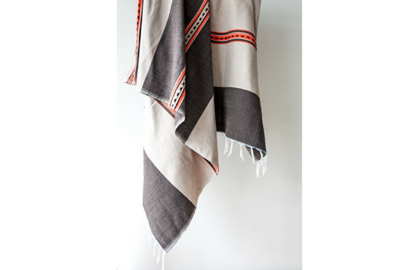 Hand Woven Wool Mexican Blanket