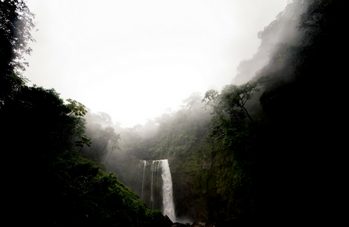 Costa Rica Waterfall Print