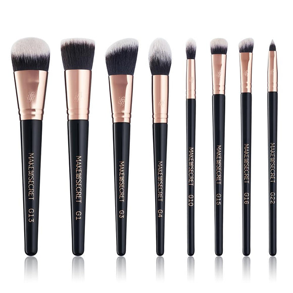 Brush Set Gold Rush 8pcs