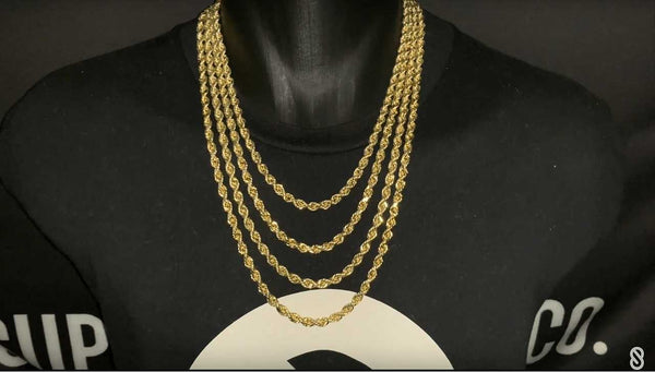 How to Layer Gold Chains