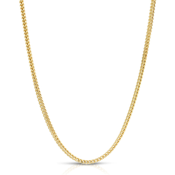 3.0MM FRANCO - HOLLOW 10K GOLD CHAIN