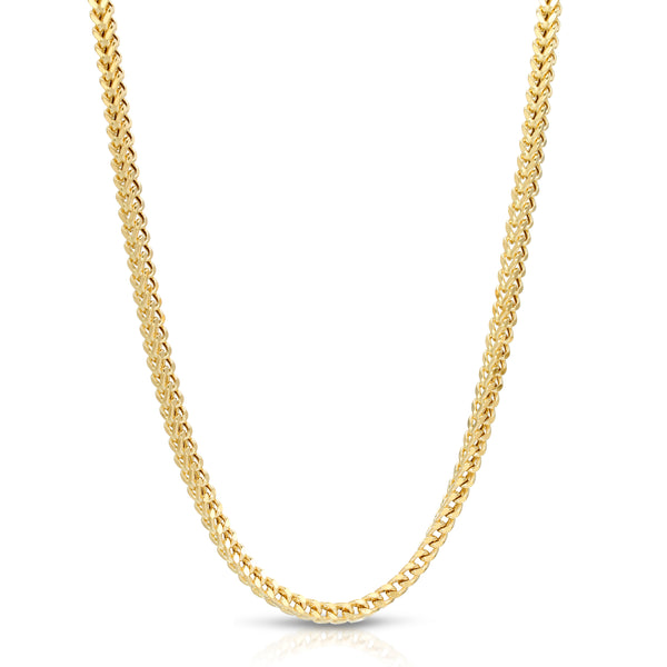 4.0MM FRANCO - HOLLOW 10K GOLD CHAIN