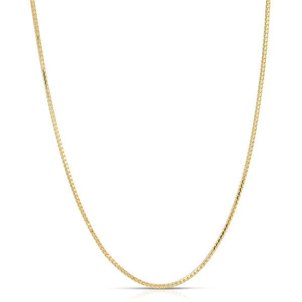 0.9MM FRANCO - SOLID 14K GOLD CHAIN