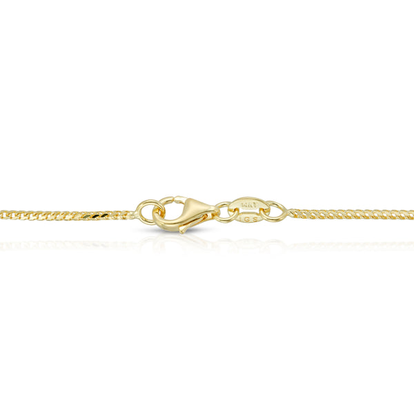 1.0MM FRANCO - SOLID 14K GOLD CHAIN