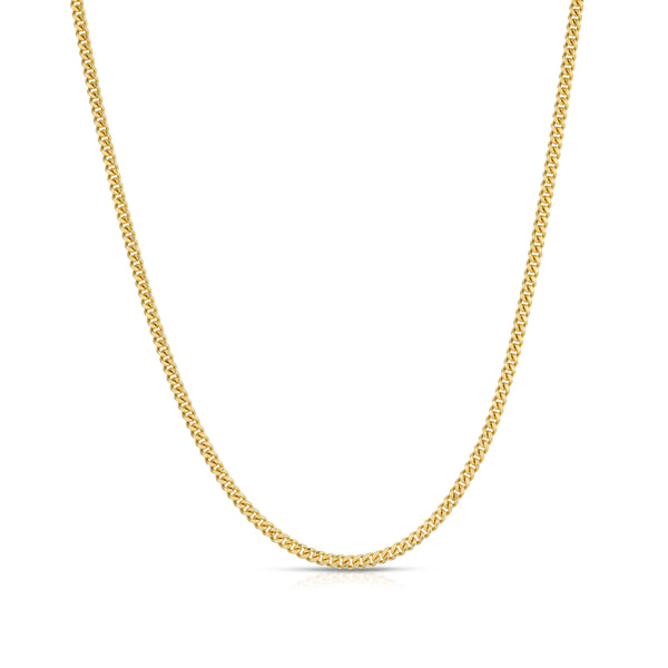 2.0MM MIAMI CUBAN LINK - SOLID 10K GOLD CHAIN