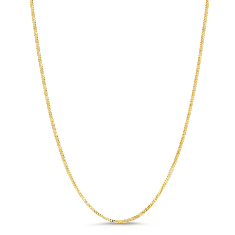 2.0MM FRANCO - HOLLOW 14K GOLD CHAIN