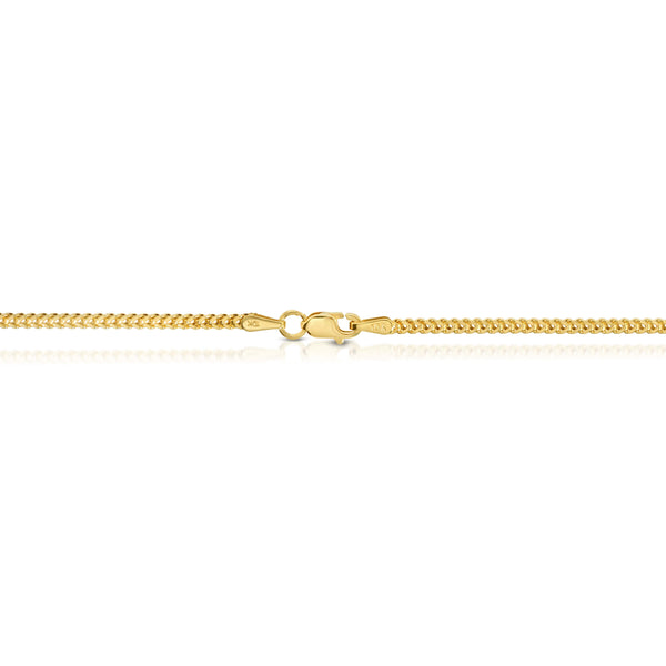 2.0MM FRANCO - HOLLOW 10K GOLD CHAIN