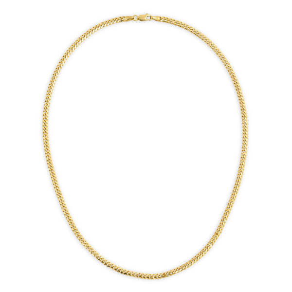 4.0MM MIAMI CUBAN LINK - SOLID 10K GOLD CHAIN