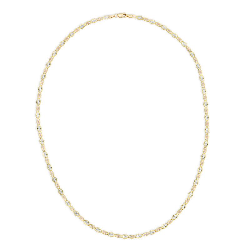 4.0MM VALENTINO - SOLID 14K GOLD CHAIN