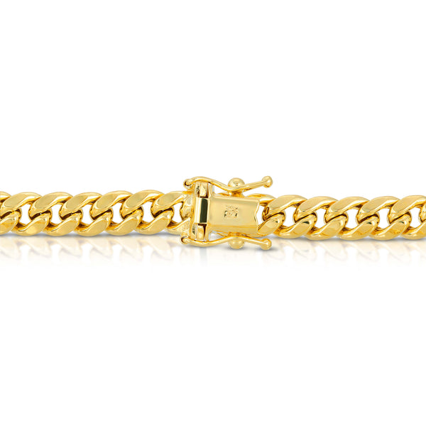 5.5MM MIAMI CUBAN LINK - HOLLOW 10K GOLD CHAIN