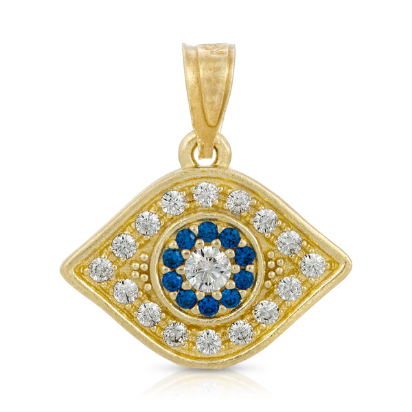 Blue Evil Eye Pendant (P202)