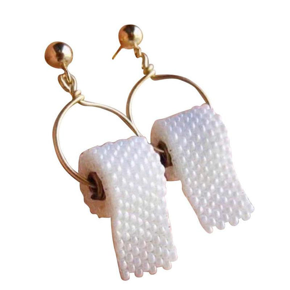 Paper - Drag Queen Creative Earrings-Queenofdrag.com