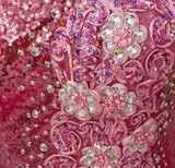 Queen Pink - Custom Made Drag Queen Sequin Gown