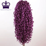 "24"" Curly Drag Queen Lace Front Wig in different colours"
