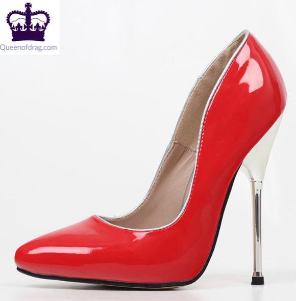 Tallula - 14cm Metal Drag Queen Stiletto - Plus size - Choose your color-Queenofdrag.com