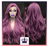 Amazing Purple Drag Queen Lace Front Wig-Queenofdrag.com