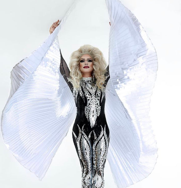 Valkyrie - Drag Queen Warrior Jumpsuit-Queenofdrag.com