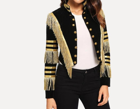 Captain - Drag Queen Fringe Jacket