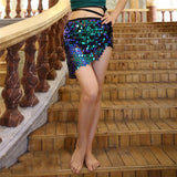 Sirella - Drag Queen Sequin Skirt-Queenofdrag.com