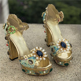 Majesty - Drag Queen Platform Sandals-Queenofdrag.com