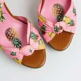 Pina Colada - Drag Queen Pineapple Platform Shoes