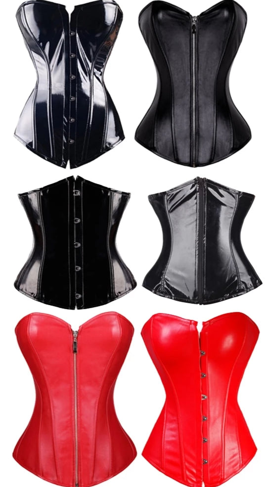 Shiny - Sexy Drag Queen Corset-Queenofdrag.com
