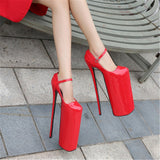 Dragzilla - 30cm High-heeled Drag Queen Platform Shoes 4 colours - Plus size
