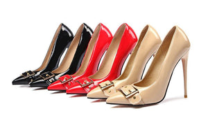 Traudi - Drag Queen Mama Stiletto Heels 3 colours - Plus Size-Queenofdrag.com