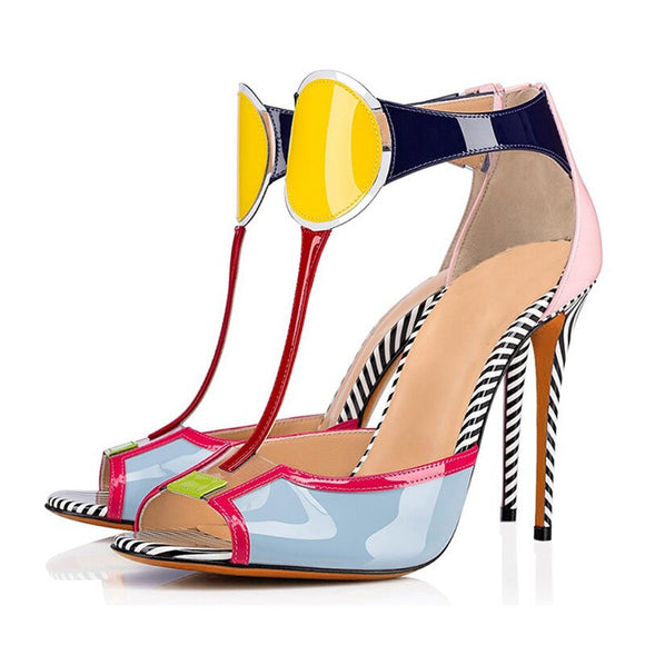 Cindy - Drag Queen Stiletto Sandals-Queenofdrag.com